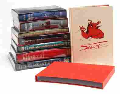 EIGHT BOOKS BY THE FOLIO SOCIETY.