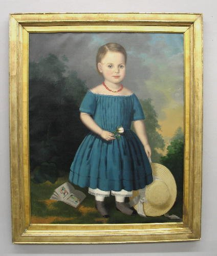1: OIL ON CANVAS PAINTING. Attributed to Robert Street