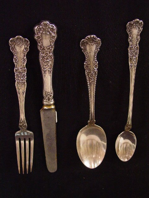 "17: SET OF GORHAM ""STERLING"" FLATWARE. Sixty-"