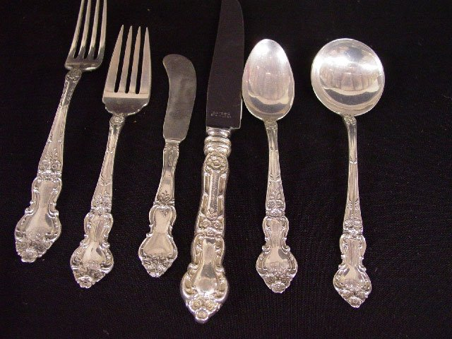 "18: SET OF WATSON COMPANY ""STERLING"" FLATWARE"