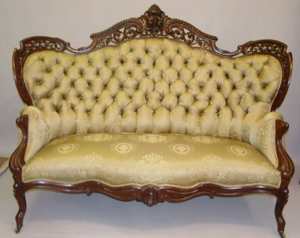 84: ROCOCO CARVED SOFA. Attributed to J. J. M