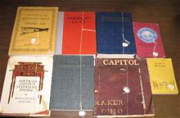 496B: EIGHT REFERENCE BOOKS. Historical Staffordshire b