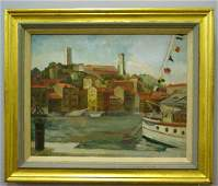 53 OIL ON CANVAS BY PROCTOR Initialed C A P 1957 l
