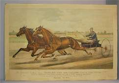 191 CURRIER  IVES LARGE FOLIO LITHOGRAPH 940  P