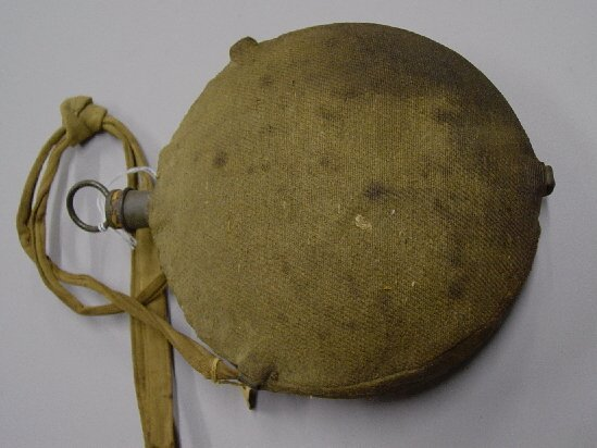 360: CIVIL WAR CANTEEN WITH WOOL COVERING. Mo