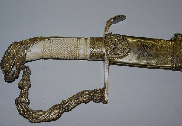 374: AMERICAN MILITIA OFFICER'S SWORD WITH SC