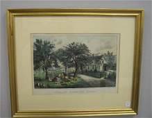 100 HANDCOLORED LITHOGRAPH BY CURRIER  IVES Ameri