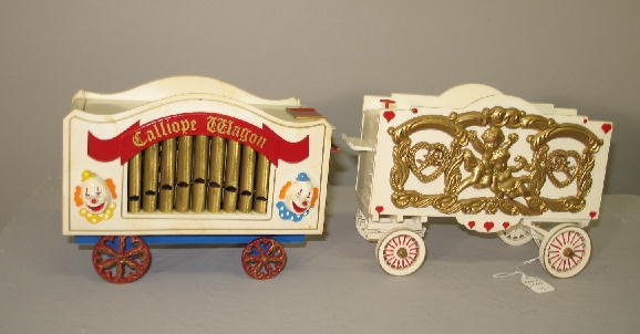 1000: LGB G SCALE CIRCUS TRAIN SET. Engine with tender  - 4