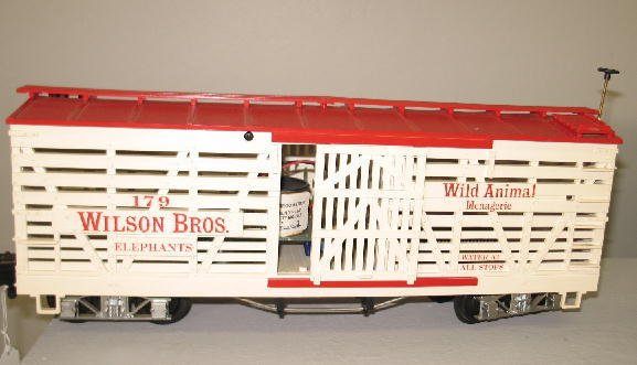 1000: LGB G SCALE CIRCUS TRAIN SET. Engine with tender  - 5