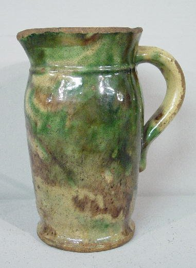 19: SMALL SHENANDOAH PITCHER. Attributed to Peter Bell,
