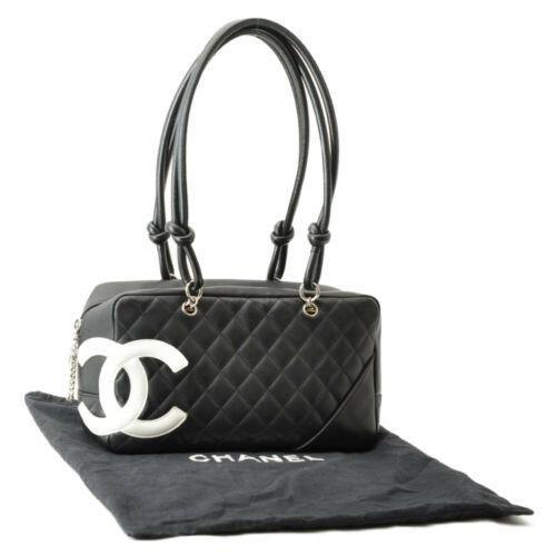 CHANEL Cambon Line Matelasse Shoulder Bag