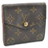 LOUIS VUITTON Porte Monnaie Billets W Hook Wallet