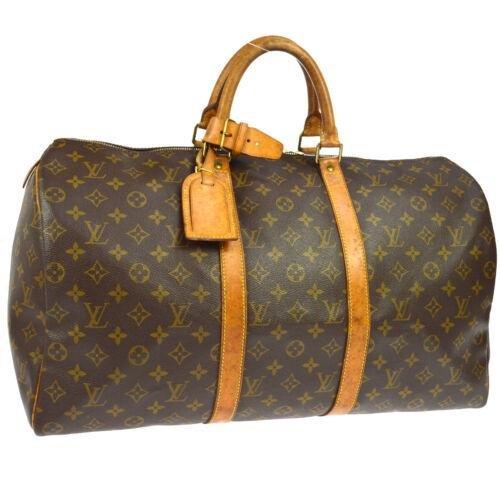 LOUIS VUITTON KEEPALL 50 TRAVEL HAND BAG