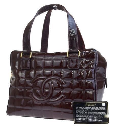 CHANEL Chocolate Bar Hand Bag
