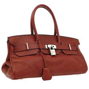 Authentic HERMES JPG Taurillon Clemence Bag
