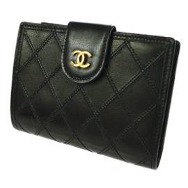 Authentic CHANEL Leather