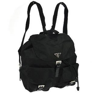 Authentic PRADA Nylon Leather Backpack Style