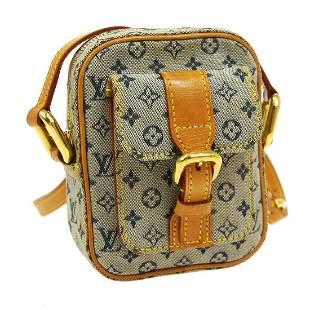 Authentic Louis Vuitton Monogram Mini Canvas Leather