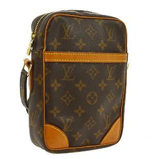 Authentic Louis Vuitton Monogram Canvas Leather