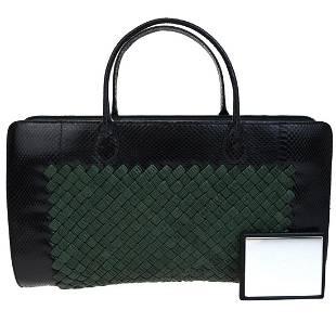 Authentic BOTTEGA VENETA Lizard Leather Hand bag