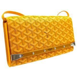 GOYARD Monte Carlo 2way Shoulder Clutch Bag