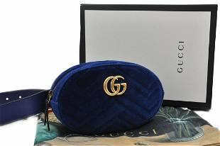 Authentic GUCCI Velvet Bum Bag