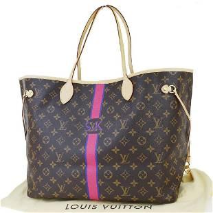 Authentic LOUIS VUITTON Monogram Leather Shoulder Bag