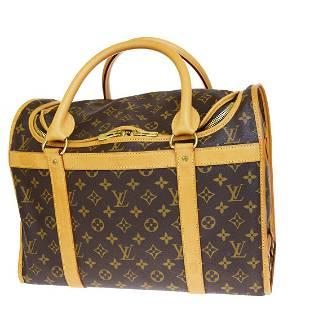 Authentic LOUIS VUITTON Monogram Leather Hand Bag
