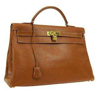 HERMES KELLY 40 RETOURNE Hand Bag