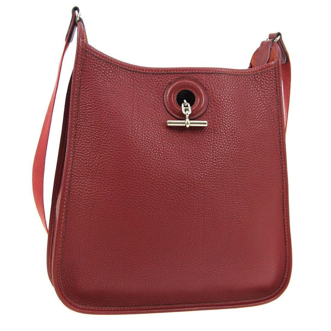 Authentic HERMES VESPA PM Shoulder Bag