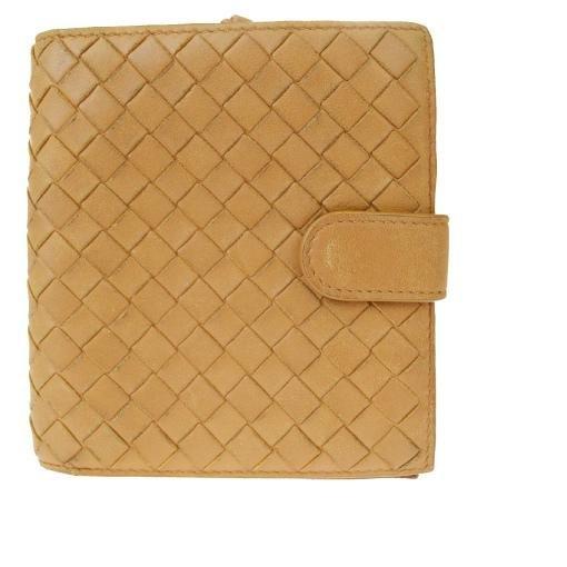 Authentic BOTTEGA VENETA Intrecciato Leather Wallet