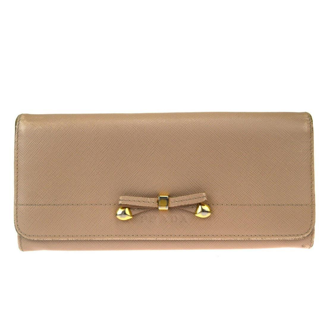 Authentic PRADA Leather Wallet
