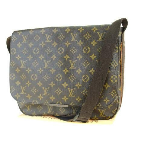 Authentic LOUIS VUITTON PVC, Cuir Ombre Leather