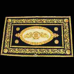 Authentic GIANNI VERSACE Wool ,Silk Rug Carpet