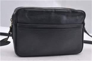 Authentic LOUIS VUITTON TROCADERO 27 Epi Leather