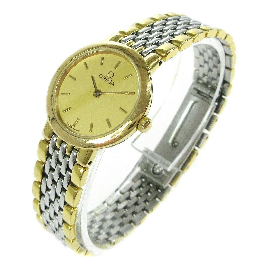 Authentic OMEGA Stainless Steel Casual