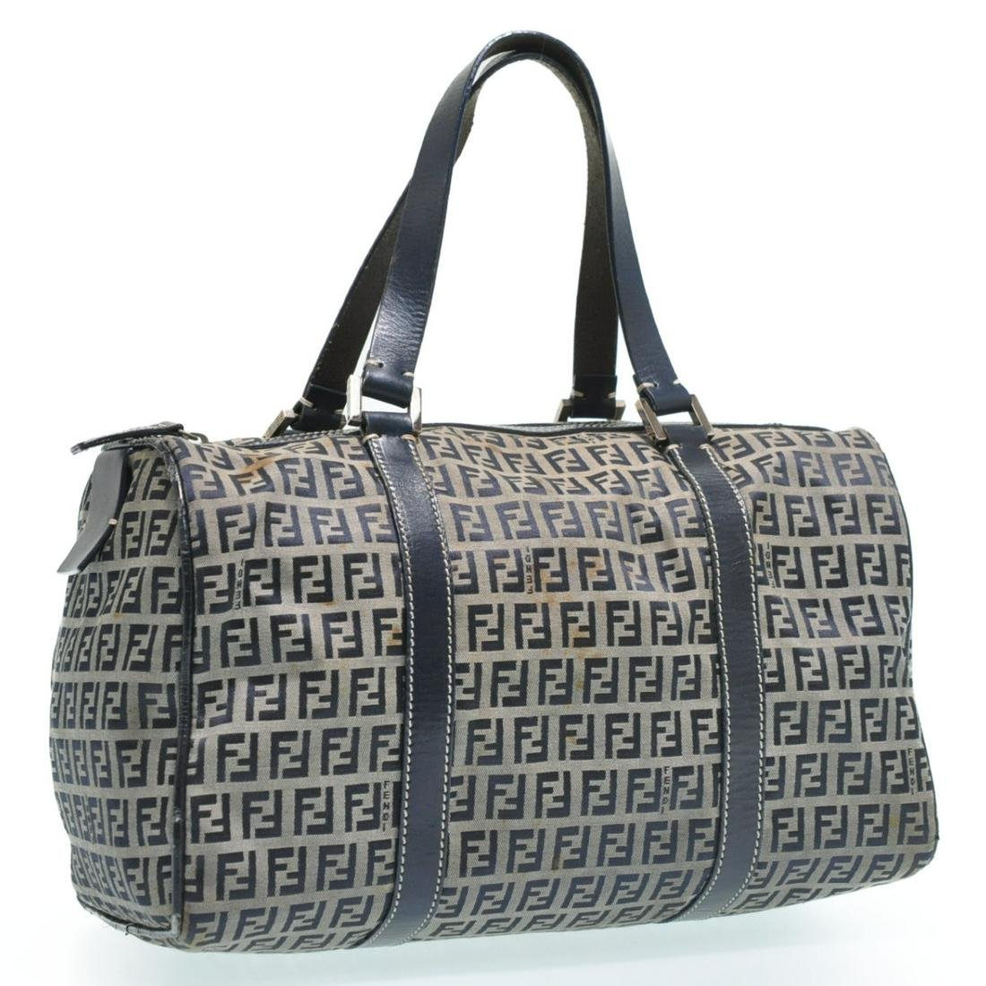Authentic FENDI Canvas Hand Bag