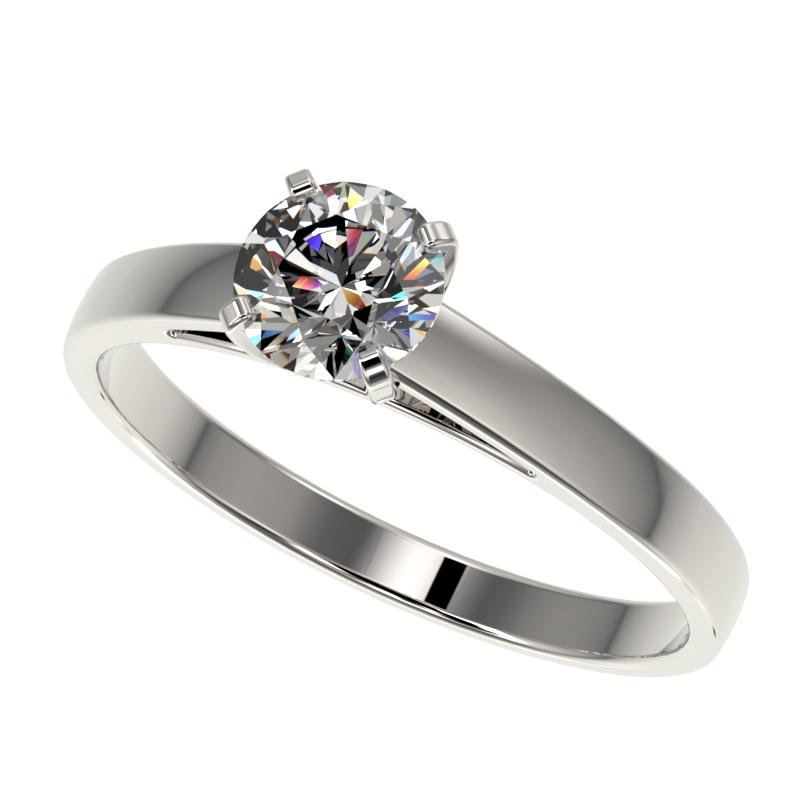 .77 ctw Certified Quality Diamond Engagment Ring 10k
