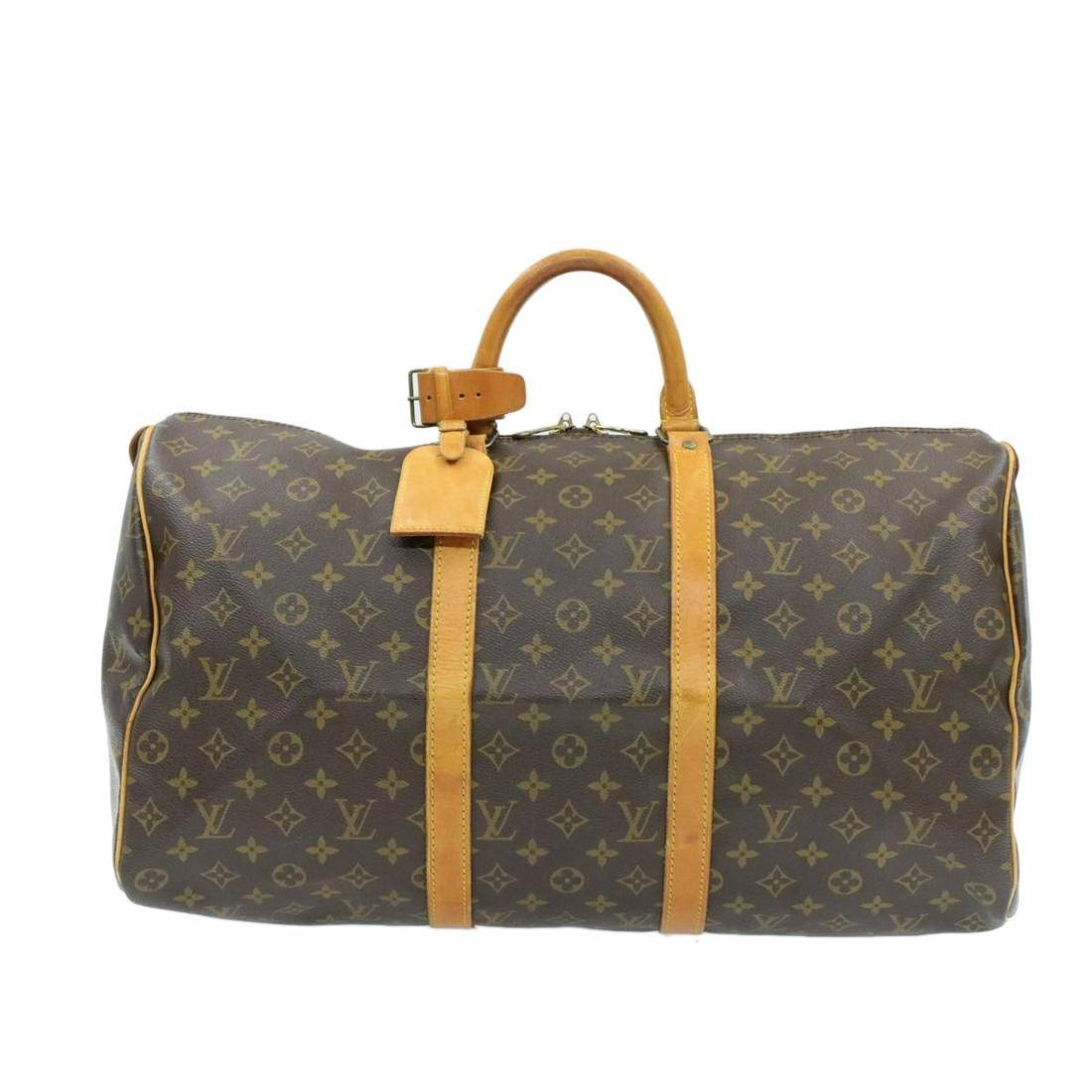LOUIS VUITTON Monogram Keepall 50 Boston Bag    **Screw