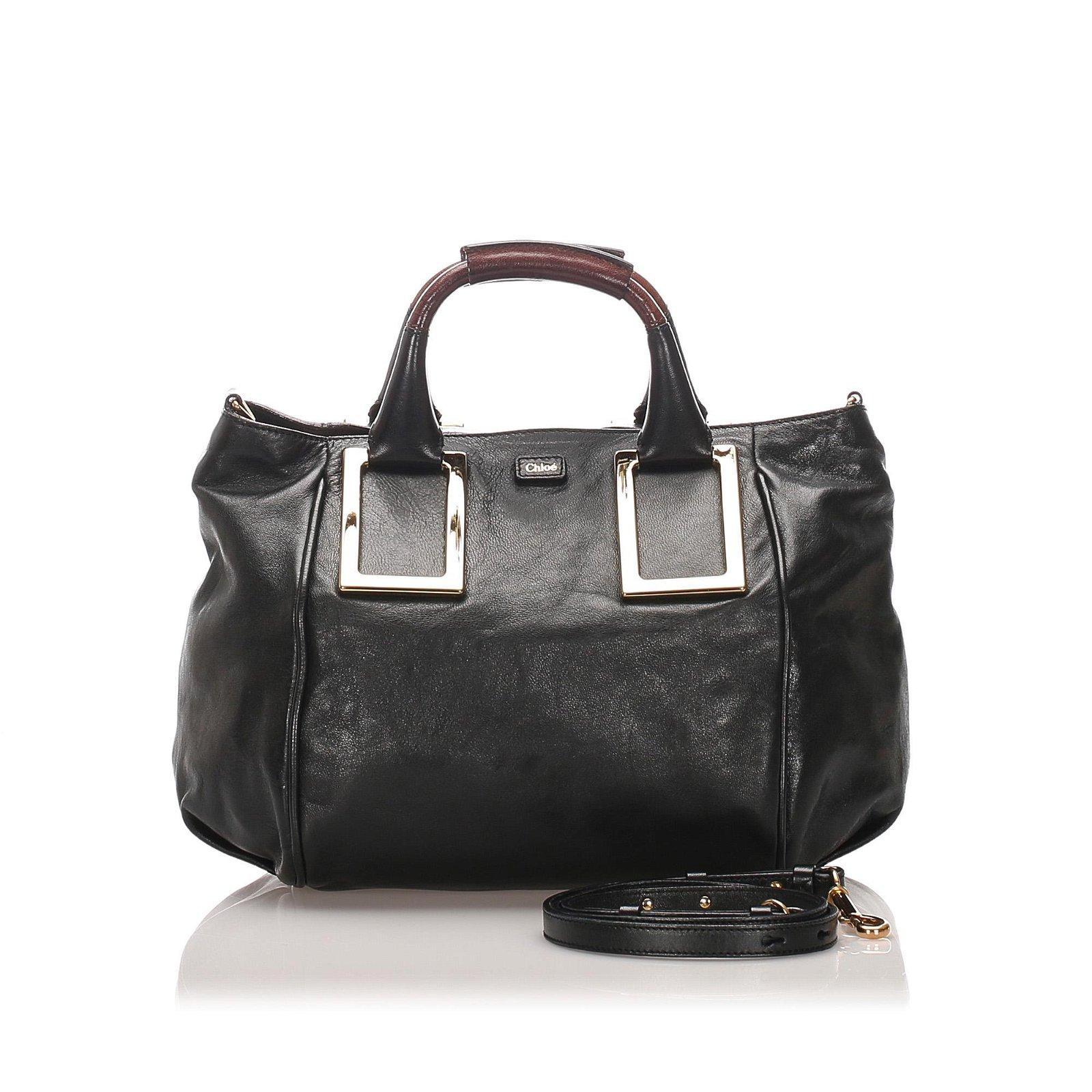 Authentic Chloe Leather Ethel Satchel