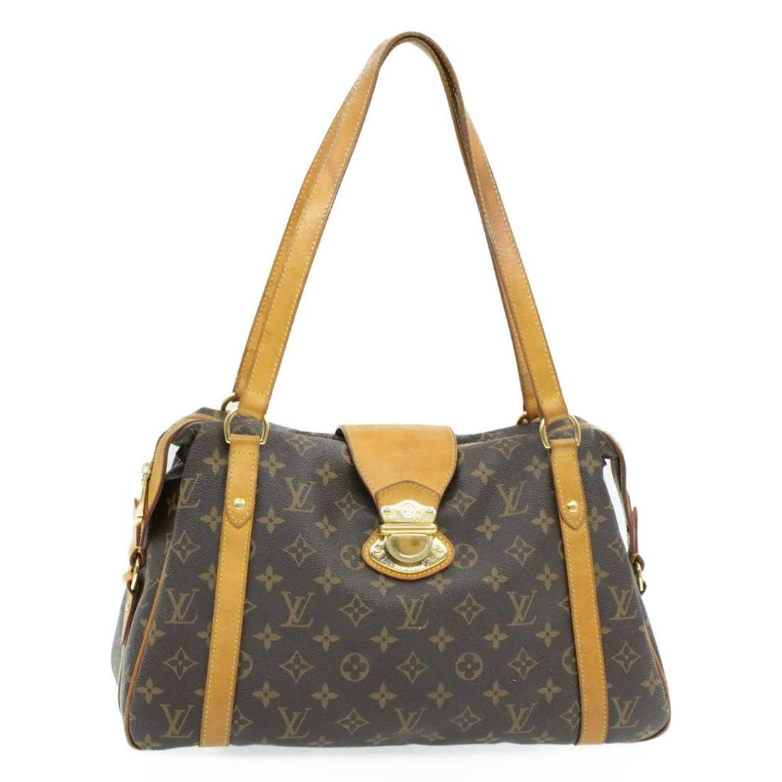 Authentic LOUIS VUITTON Monogram Canvas Hand Bag
