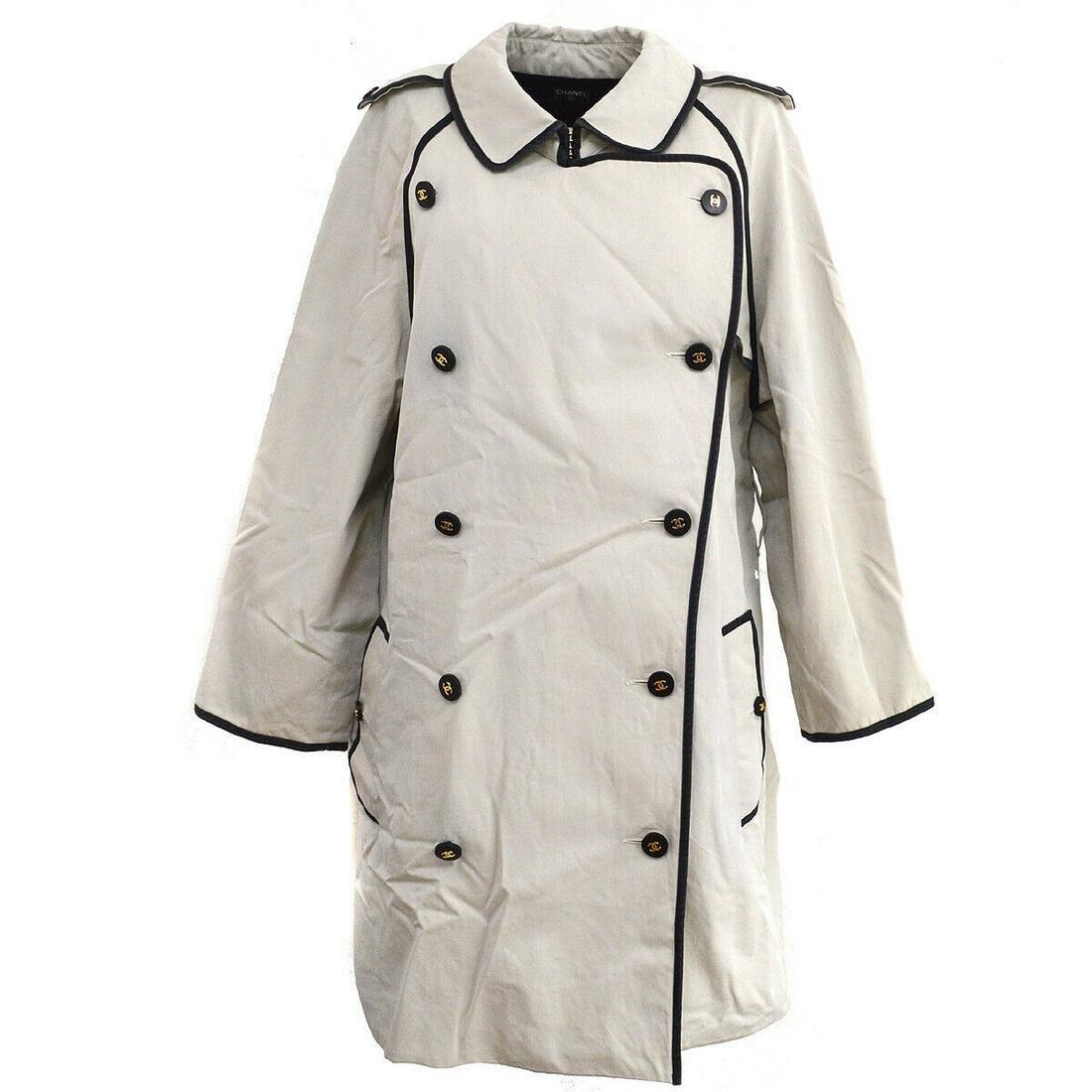 Authentic CHANEL 100% Cotton Jacket