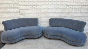 Mid Century Modern Adrian Pearsall Style Kidney Curved