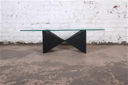 Authentic Paul Evans Mid-Century Modern Brutalist Bow