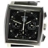 Authentic Tag Heuer Monaco Chronograph CW2111-0