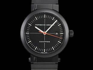 Authentic Porsche Design P6520 compass watch