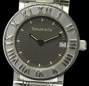 Authentic TIFFANY & Co. Atlas Date Quartz Women