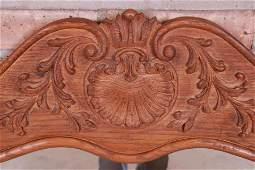John Widdicomb French Provincial Louis XV Carved Oak