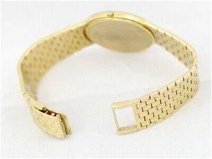 Authentic SEIKO Credor 5A74-0420 K18YG Yellow Gold Men