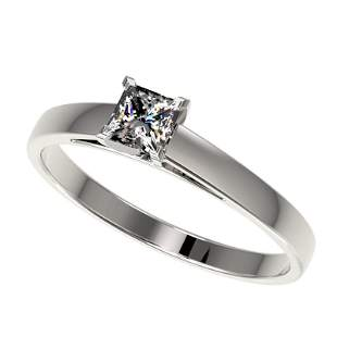 .50 ctw Certified VS/SI Quality Princess Diamond Ring